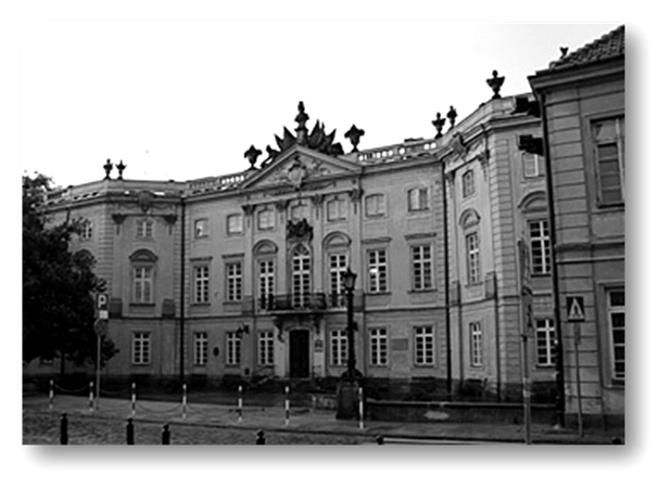 Budynek pałacu Sapiehów